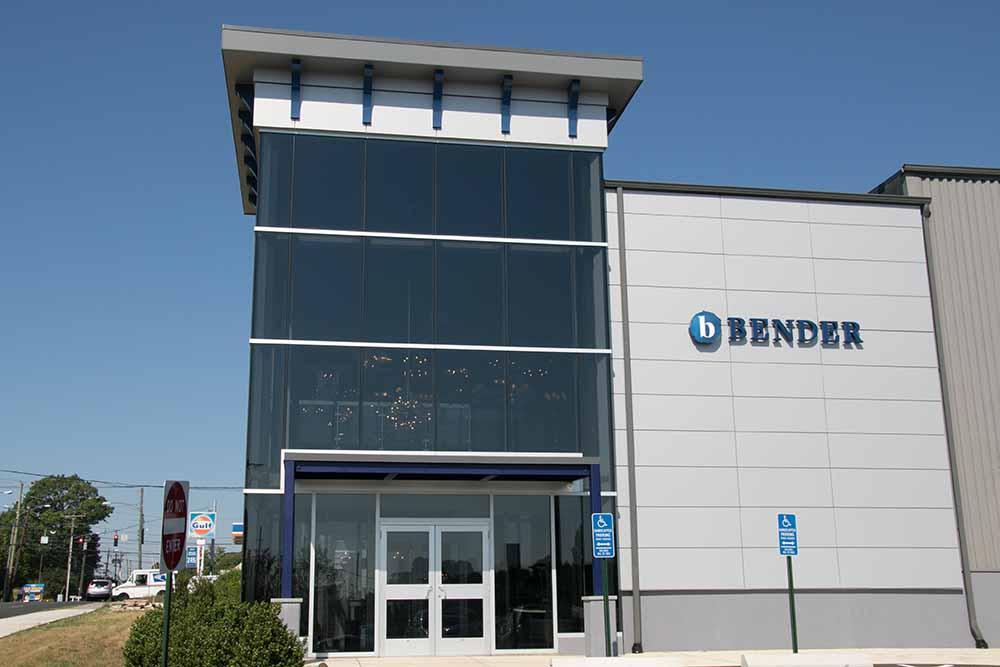 Bender Plumbing - Norwalk, CT  Curtain Wall and Aluminum Composite Panels