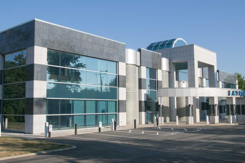 Curtain Wall at Laticrete International -Bethel, CT